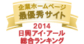 WITH GRADE AAA Corporate Websites 2014 Nikko Investor Relations Co.,Ltd. Ranking in all listed companies in Japan